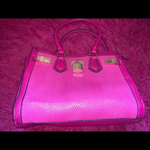 Aldo hot pink big bag!